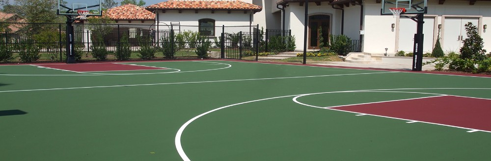 Residential Basketball Courts in Houston
