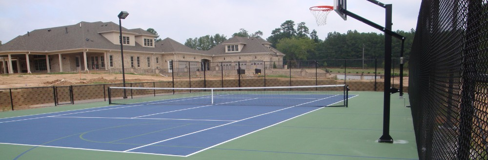 Commercial and Residential Basketball courts