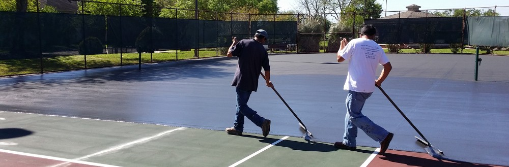 Looking to replace, resurface or re coating your residential tennis court? CALL US NOW.